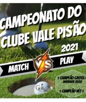 CAMPEONATO DO CLUBE 2021 – Fase Match Play